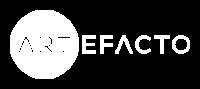 Artefacto logo in white